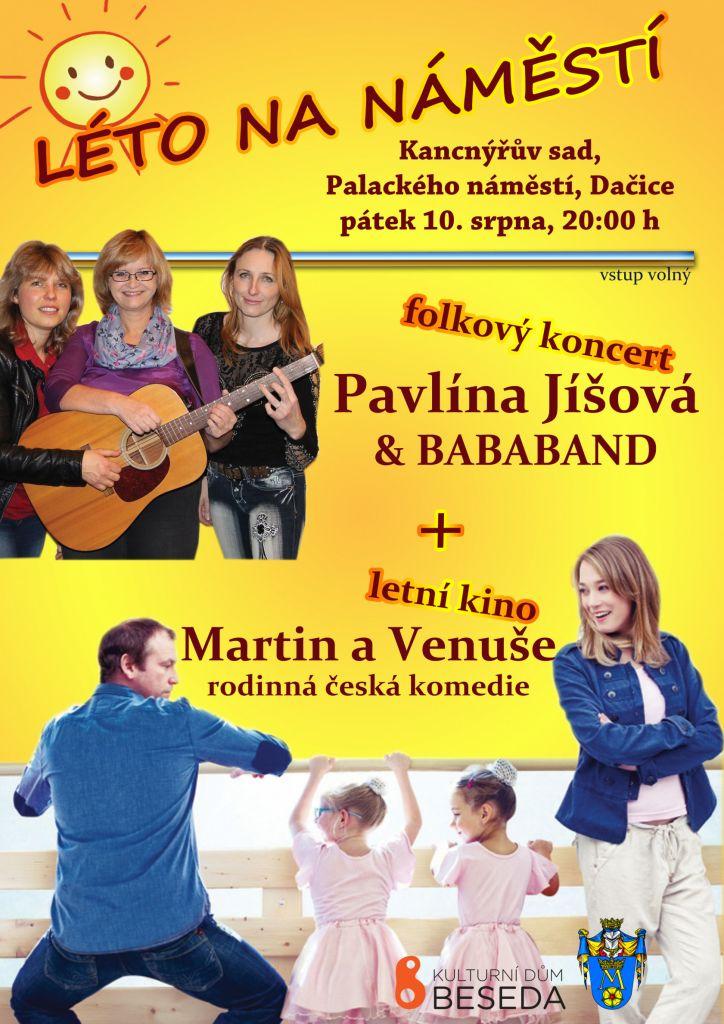Pavlína Jíšová + letní kino 1